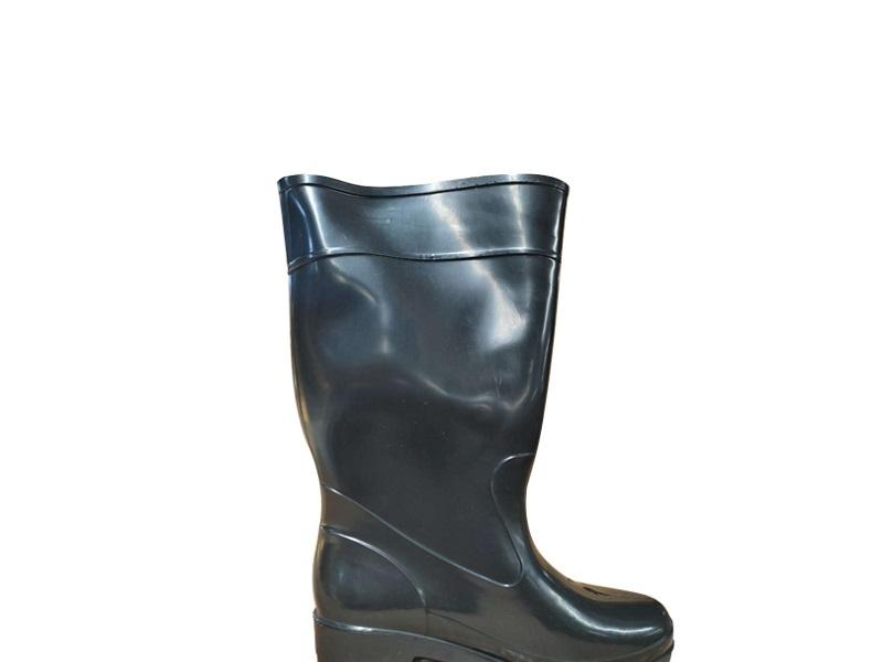 吉盾高筒水靴黑色36
