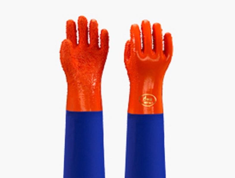 东亚 807B 防滑接袖手套