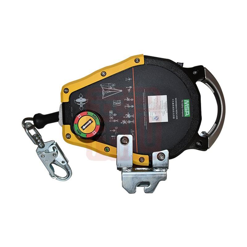 梅思安 10158194 Workman 救援速差自控器 (人孔围栏系统配件6 共8个)(人孔颈圈系统/起重杆系统/适配底座系统配件4 共6个)(适配底座系统 -(762-1219MM)延伸配件5 共7个)