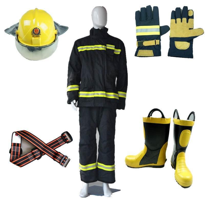美康MKF-04-TX消防员灭火防护服 五件套(3C)
