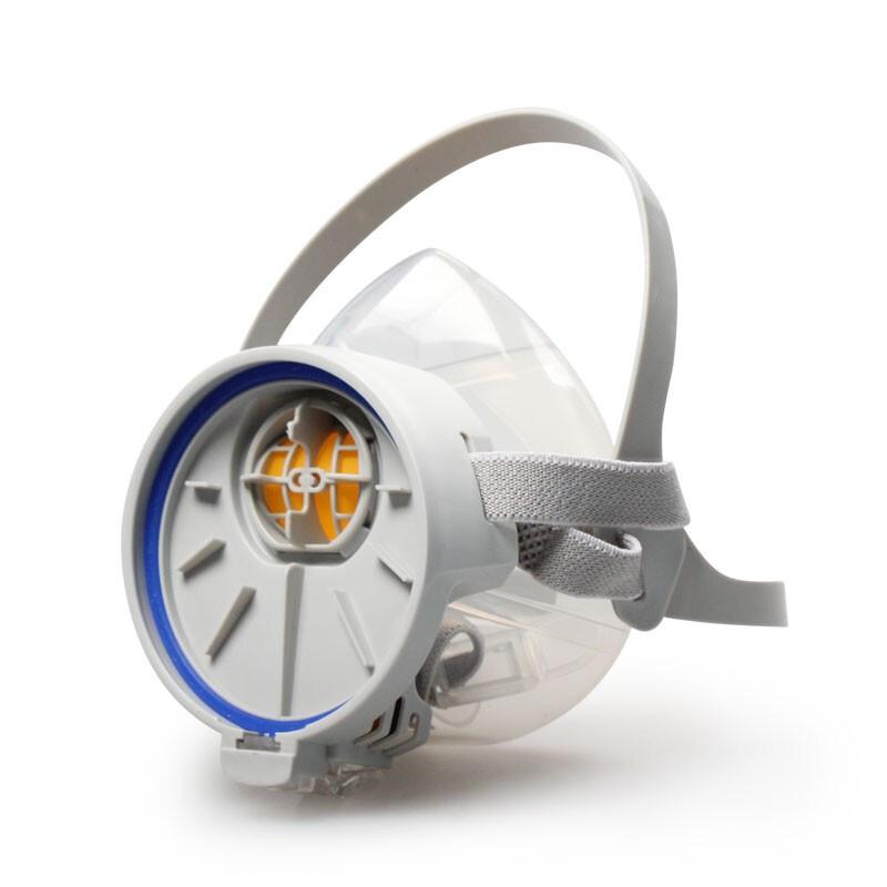 思创ST-FDG 硅胶防毒面罩(带3号滤盒)
