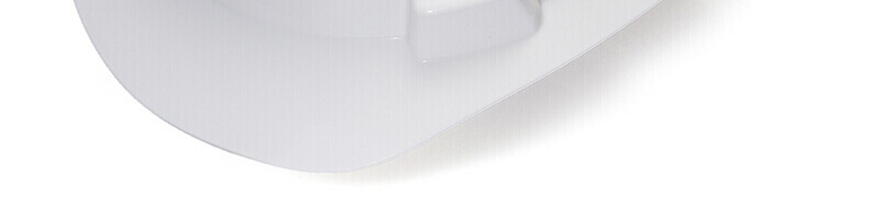 MSA/梅思安 10146458 V-Gard标准型白色PE安全帽 一指键帽衬针织布吸汗带 D型下颌带