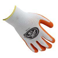 Honeywell霍尼韦尔YU138-09 誉乳胶涂层工作手套-13针白涤纶掌浸乳胶起皱