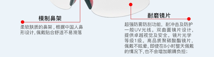 JSP洁适比 02-9700 透明防护眼镜