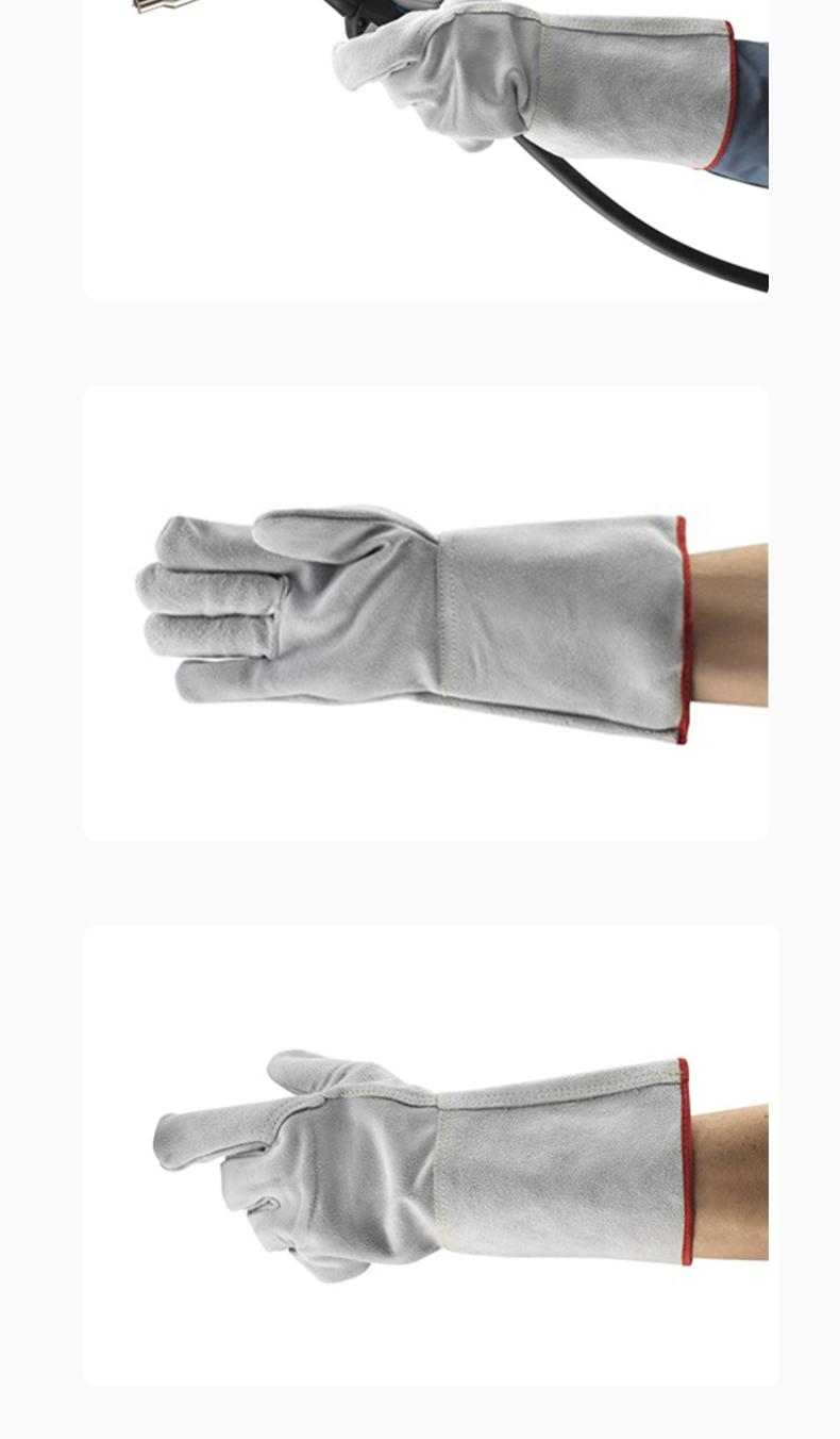 安思尔(Ansell)48-216牛皮电焊手套防热防火焰防火花