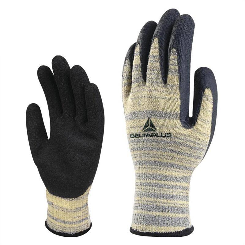 DELTAPLUS/代尔塔 202015 TAEKI系列乳胶涂层防切割手套 VENICUT 52