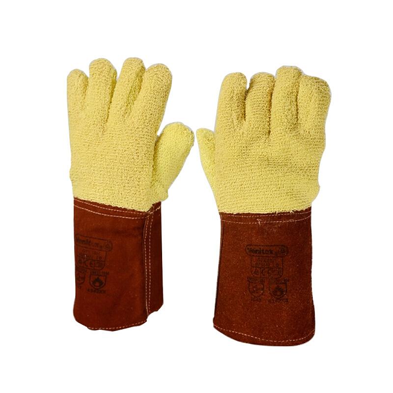 DELTAPLUS/代尔塔 203007-10 芳纶毛圈布高温防切割手套 GFK58H