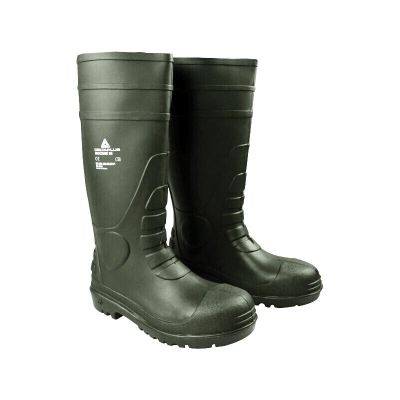 代尔塔 301407 PVC安全靴(绿色)