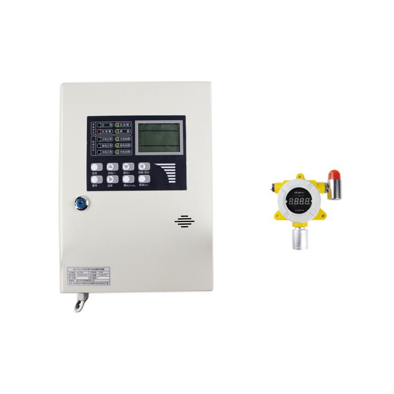 天晟 GA-TS-C100检测气体报警控制器(乙酸乙酯)一拖二款(1个主机+2个探测器)