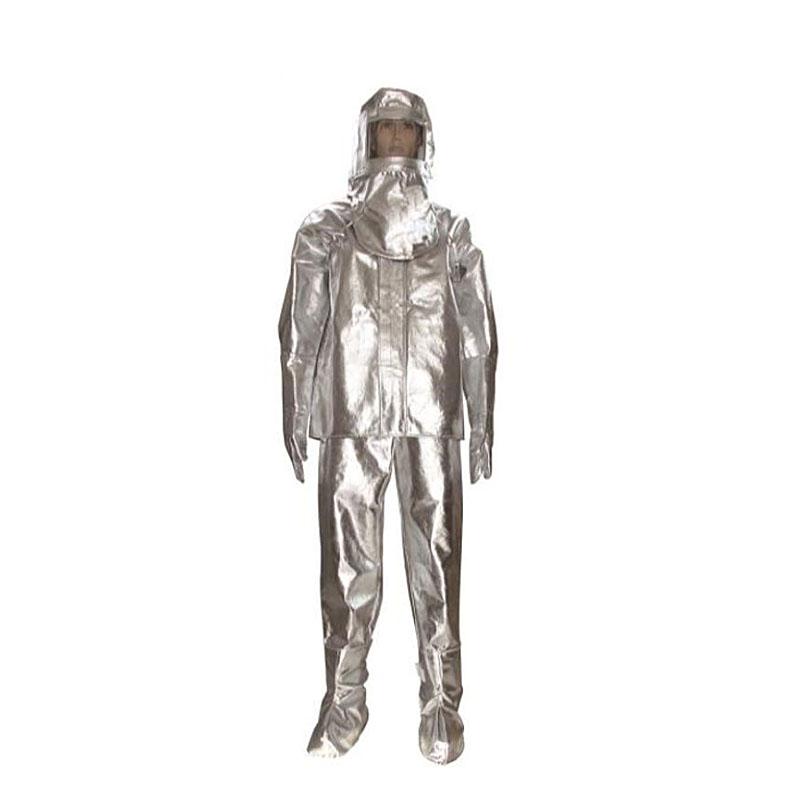 安百利ABL-F01铝箔分体隔热服(1000型 头罩 上衣 裤子 手套 脚罩)