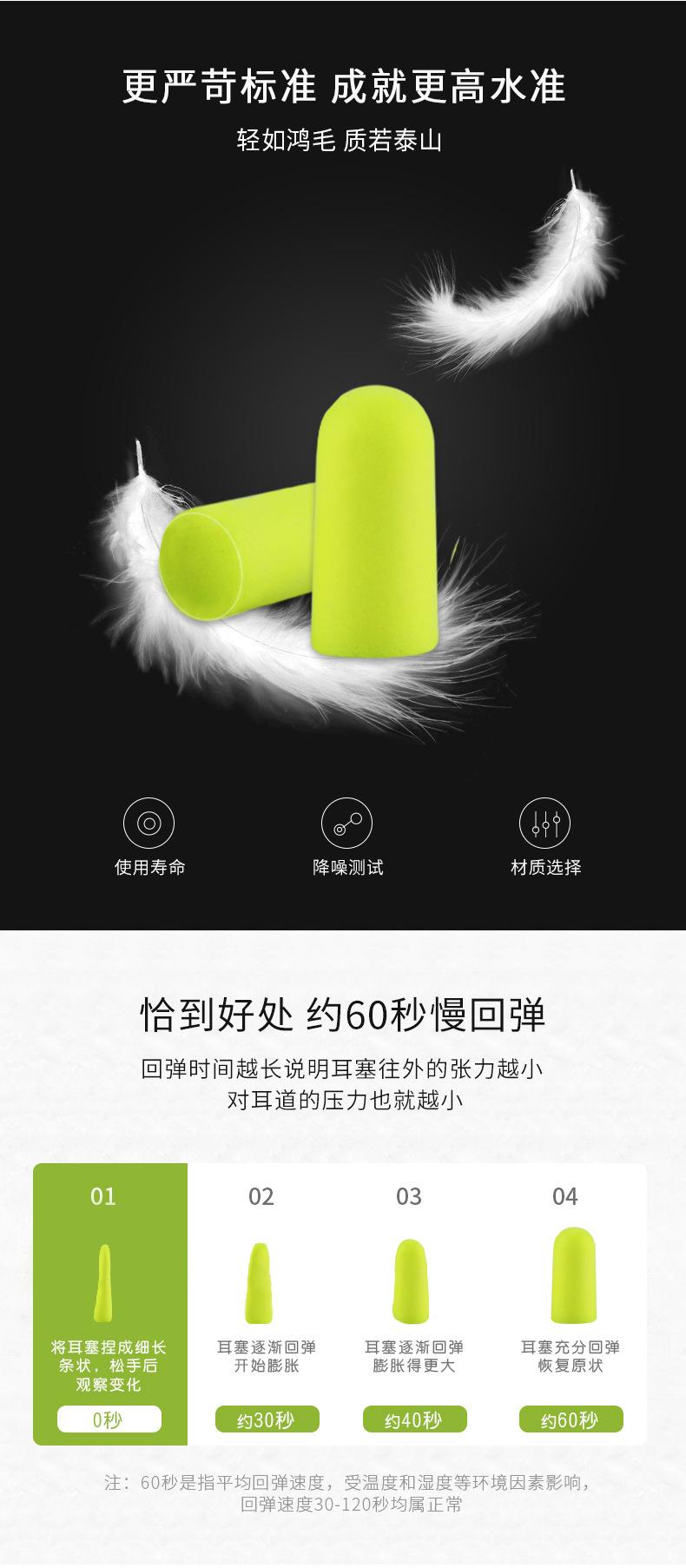 3M XA006467949超柔软款睡眠耳塞2副装