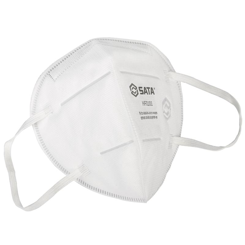 世达 HF0101折叠耳戴式口罩KN95