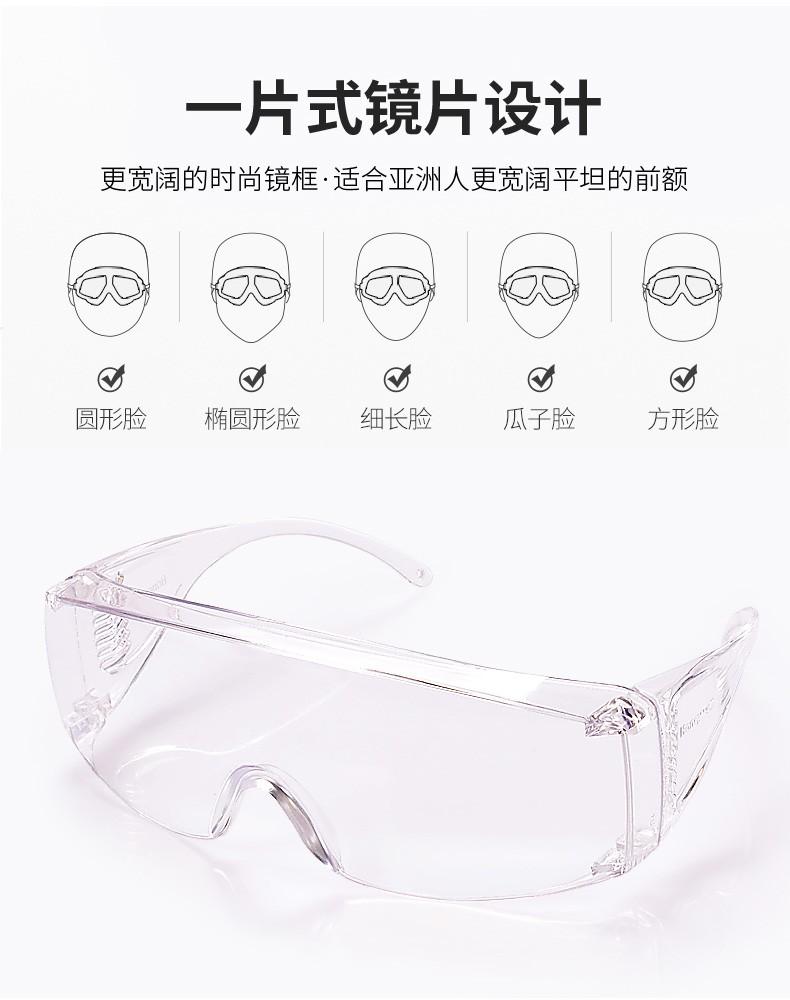 霍尼韦尔100001 OTG访客眼镜