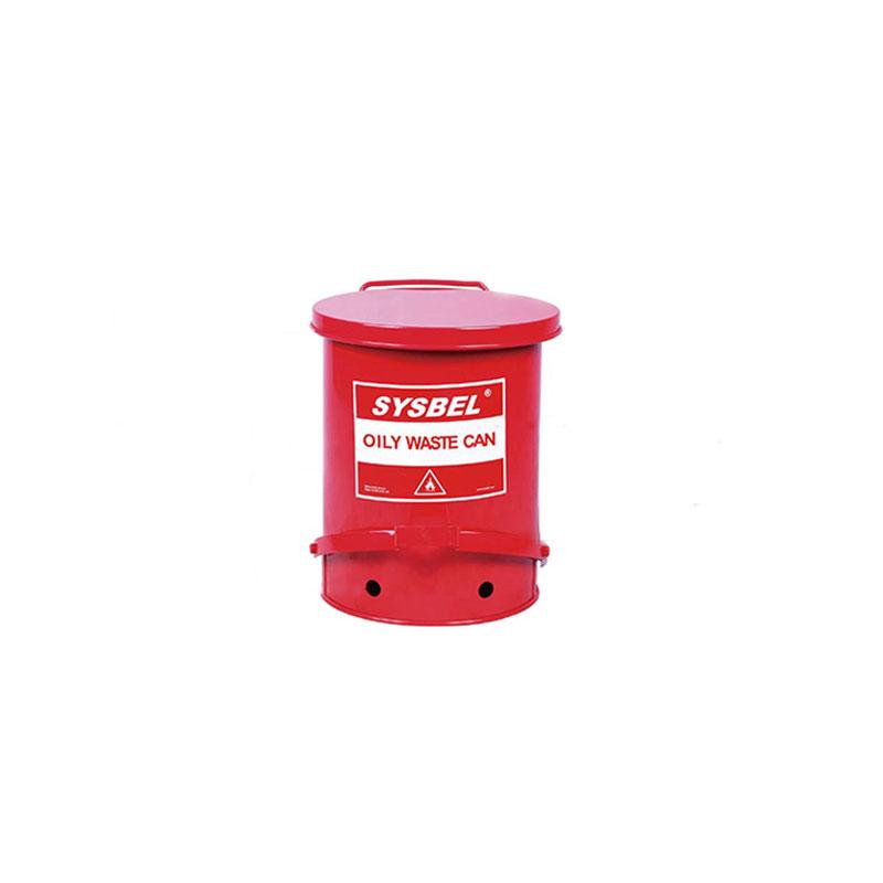 SYSBEL/西斯贝尔 WA8109500防火垃圾桶 (14Gal/52.9L) 红