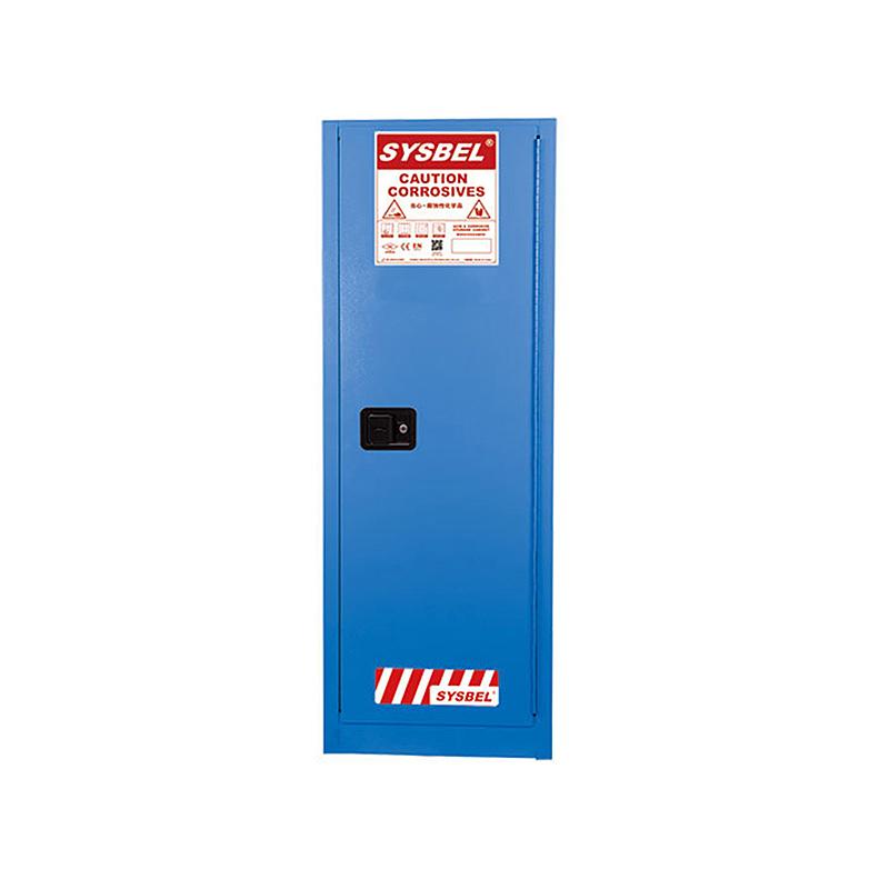 SYSBEL/西斯贝尔 WA810220B 弱腐蚀性液体防火安全柜/化学品安全柜(22Gal/83L)蓝