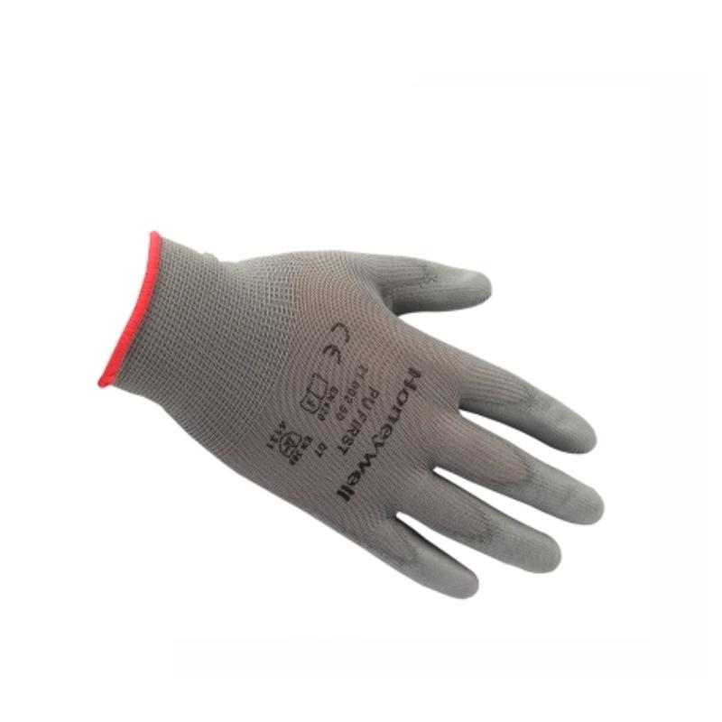 Honeywell霍尼韦尔 2100250CN-6掌部PU涂层灰色工作手套