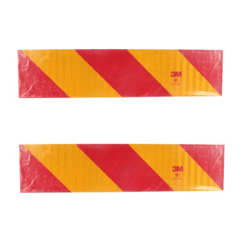 3M 车辆尾部标志板黄红尾板-重型566mm*131mm