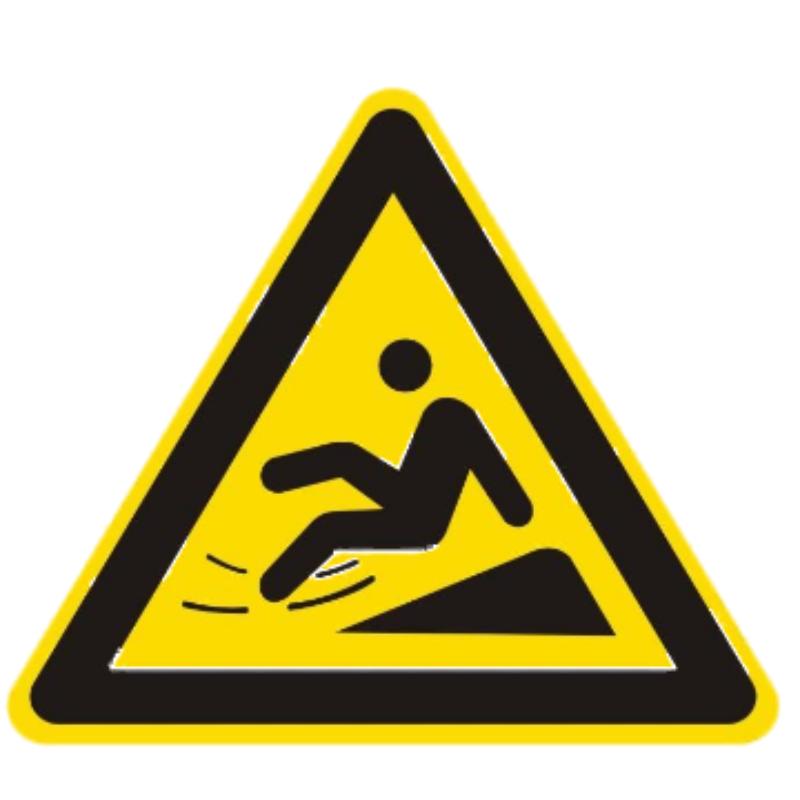 标识牌小心滑倒