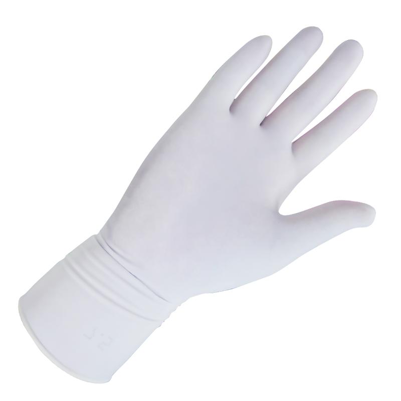 云鸽一次性使用橡胶检查手套无粉灭菌-S