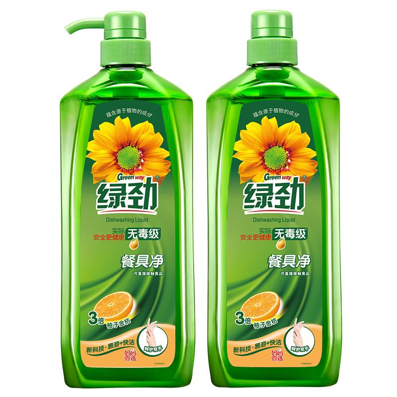 绿劲妈妈壹选 GRB12-3新一代餐具净柚子金桔1.28kg
