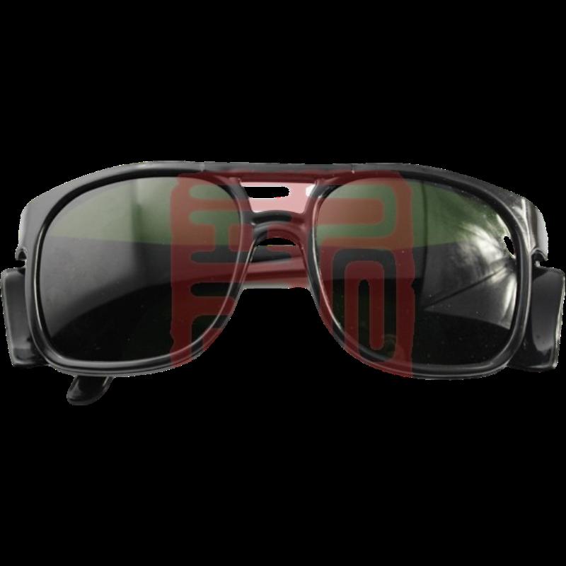 以勒 1148Q黑浅绿色 防焊接眼镜