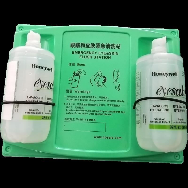 霍尼韦尔32-000465-000 16盎司 瓶装洗眼液(带国产挂板)