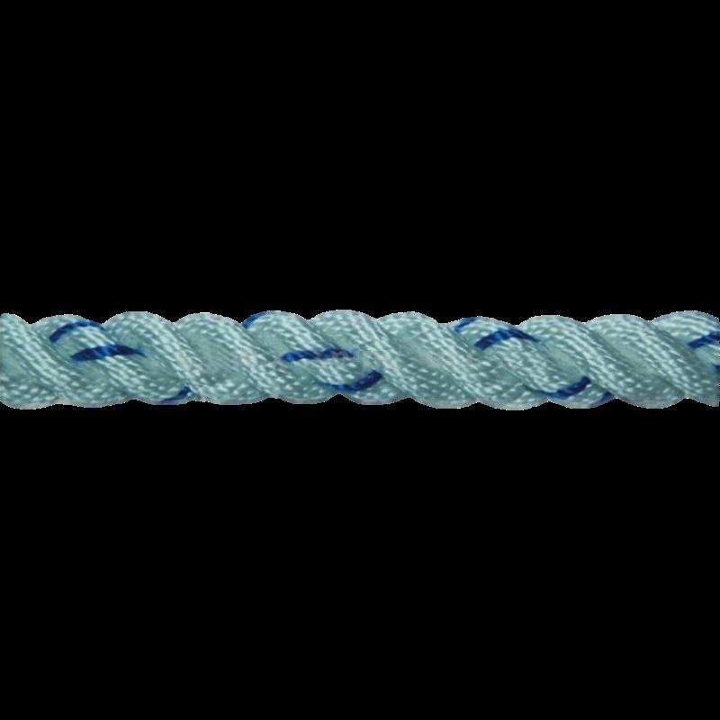 建钢安全绳 16mm丙纶三股绳双大钩