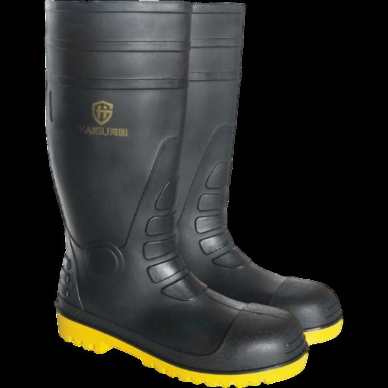 海固 HG-FHX06防砸防刺穿特种劳保靴黑色