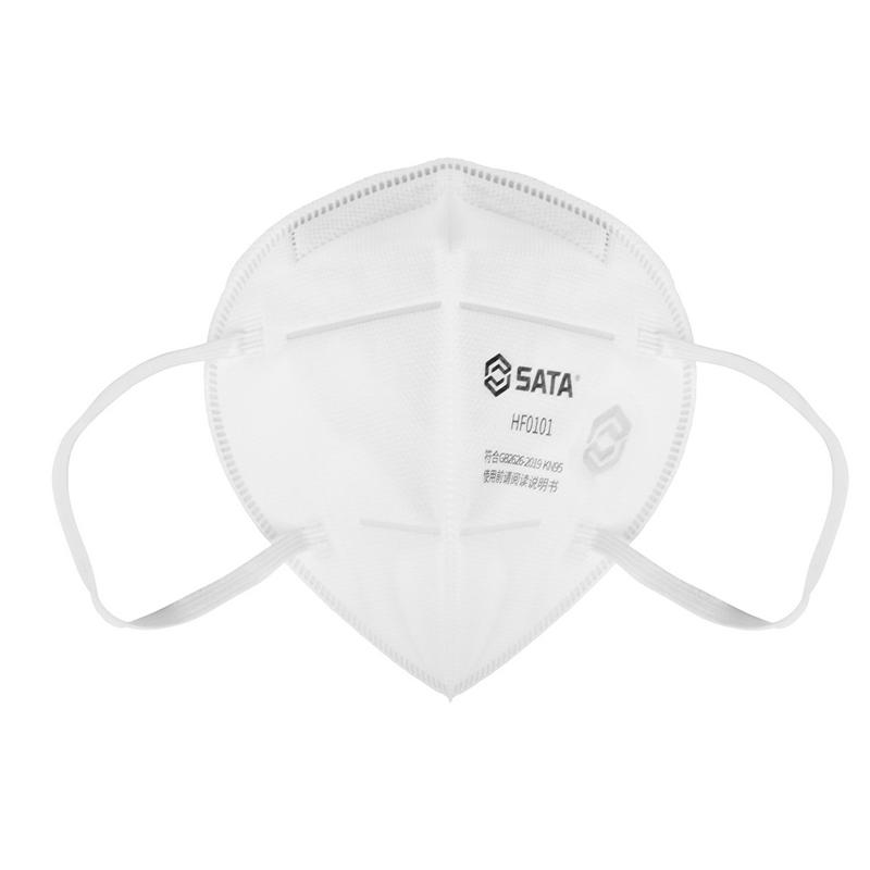 世达 HF0101折叠式防尘口罩耳戴式KN95