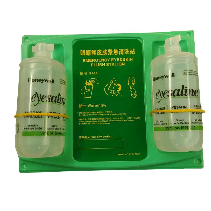 霍尼韦尔32-000462-000 32盎司双瓶洗眼液套装(国产挂板)109115-G