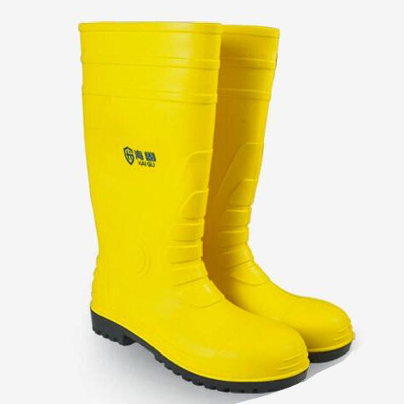 海固 HG-FHX06防砸防刺穿特种劳保靴黄色