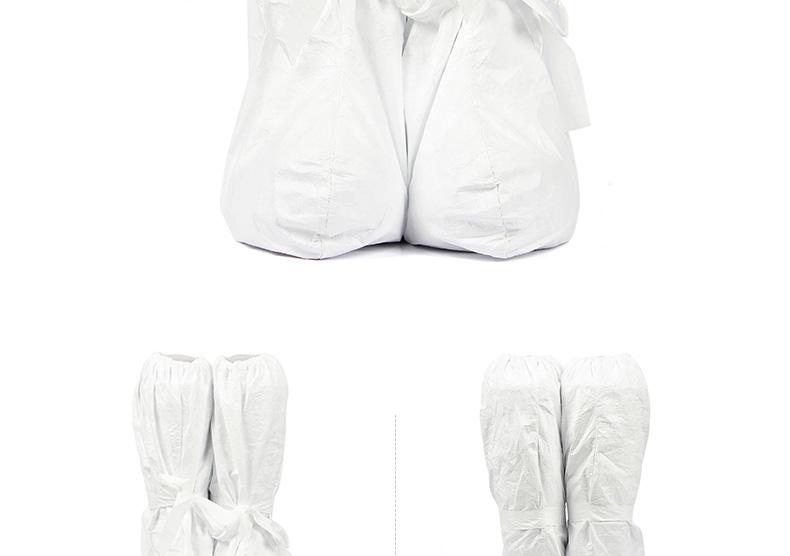 杜邦Tyvek白色防滑靴套
