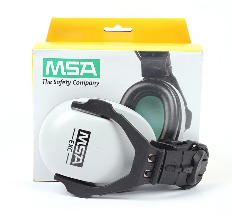 MSA梅思安 SOR10012 卓越型头盔式防噪音耳罩(SNR26dB)